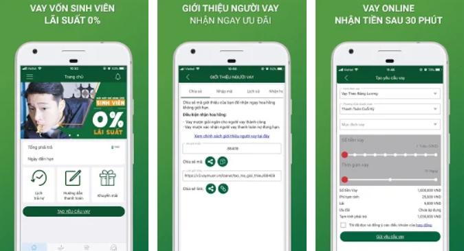 app vay mượn online