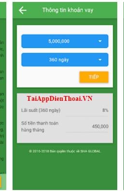 app vay tiền sha