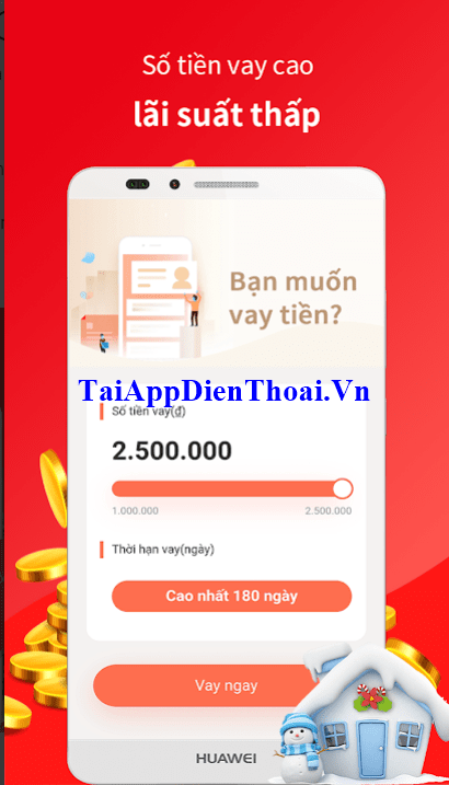 ứng dụng VayChim apk ios