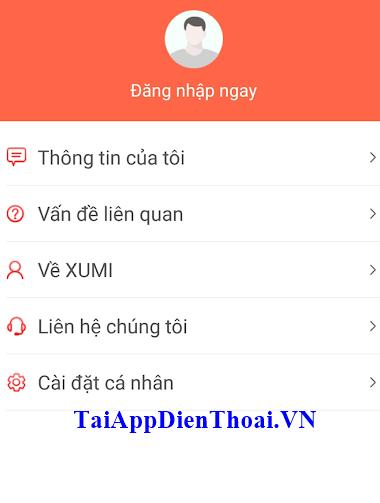 ứng dụng xumi apk ios