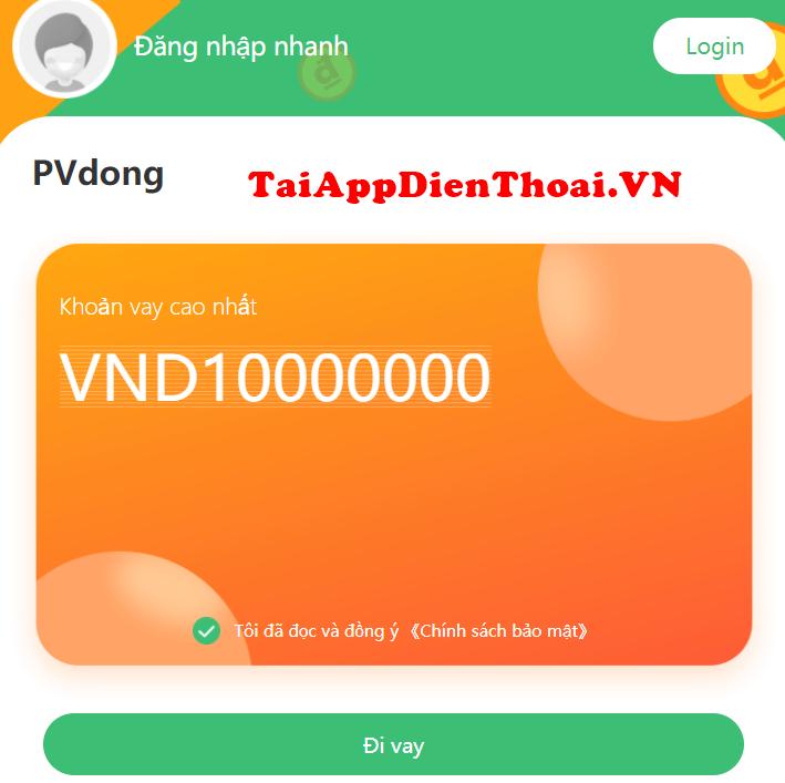 Pvdong vay