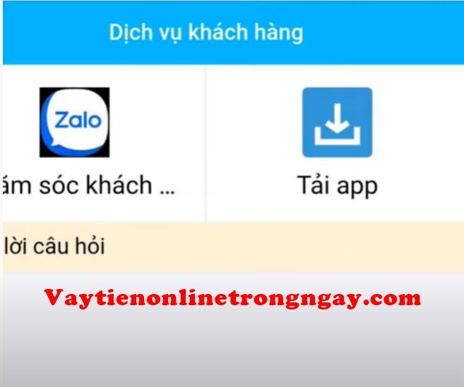 app cho vay de dang