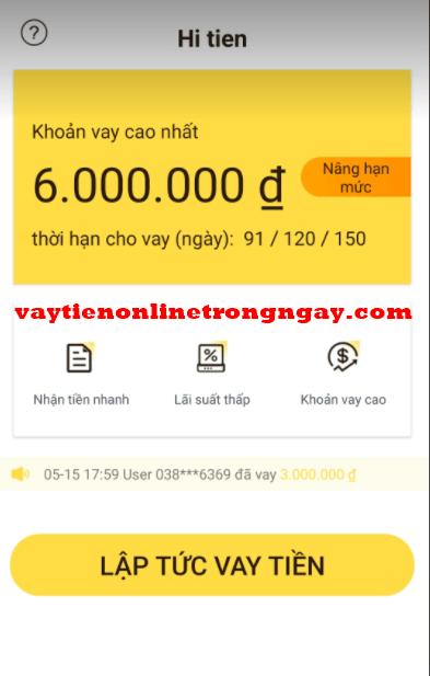 App Hi tiền