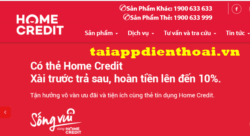 tra cứu nợ xấu Home Credit